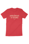 Arkansas Strong T-Shirt Red