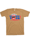 Get Out and Vote! T-Shirt Mustard