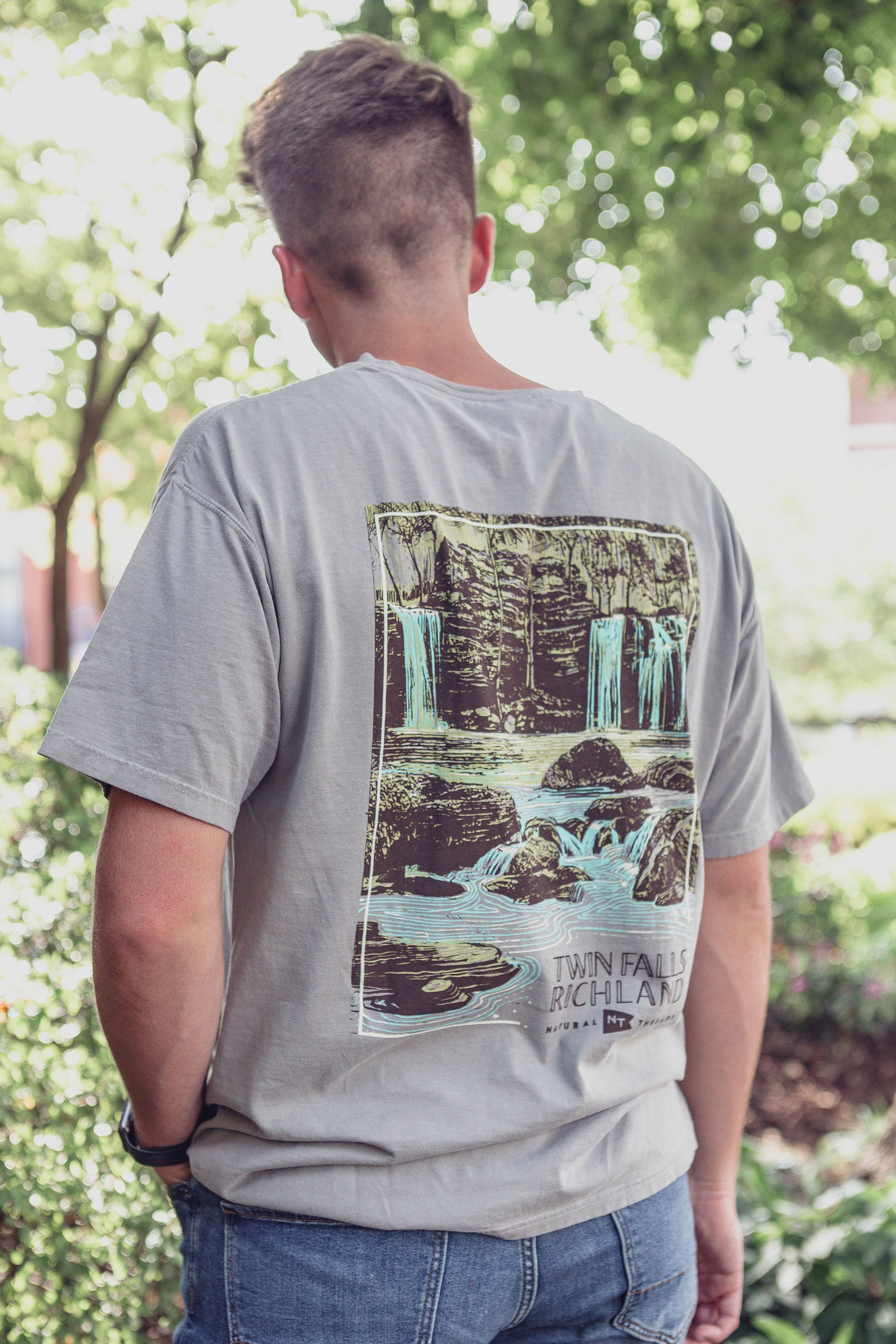 Twin Falls of Richland T-Shirt Concrete