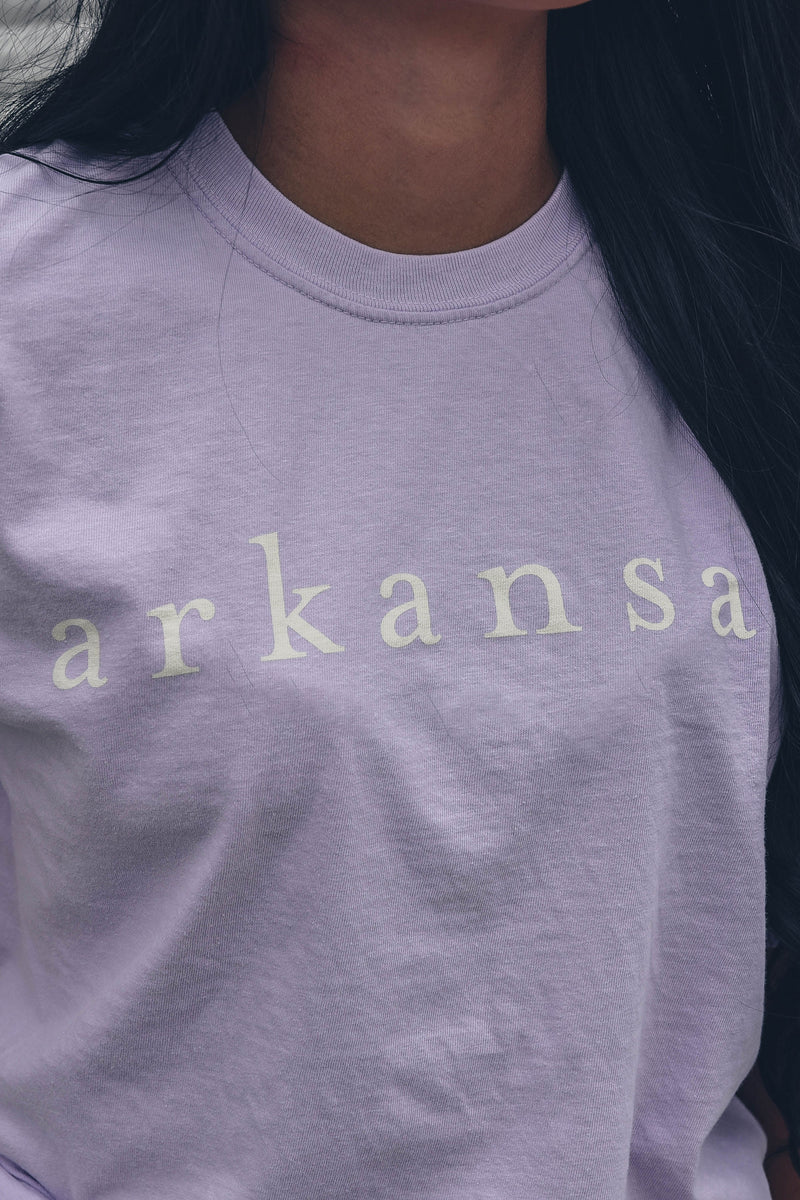 Coastal Arkansas T-Shirt Orchid
