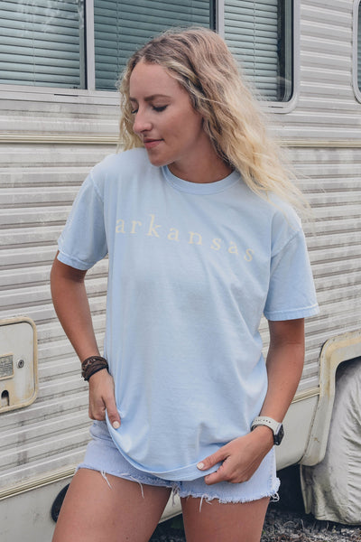 Coastal Arkansas T-Shirt Chambray