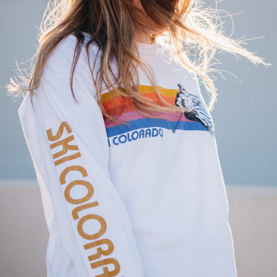 Ski Colorado LS T-Shirt