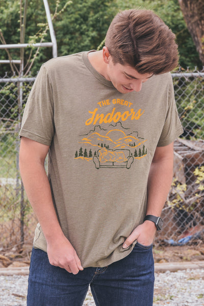 Great Indoors T-Shirt Olive