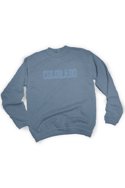Colorado Embroidered Sweatshirt