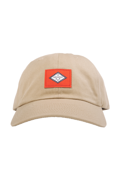 AR Flag Dad Cap Driftwood