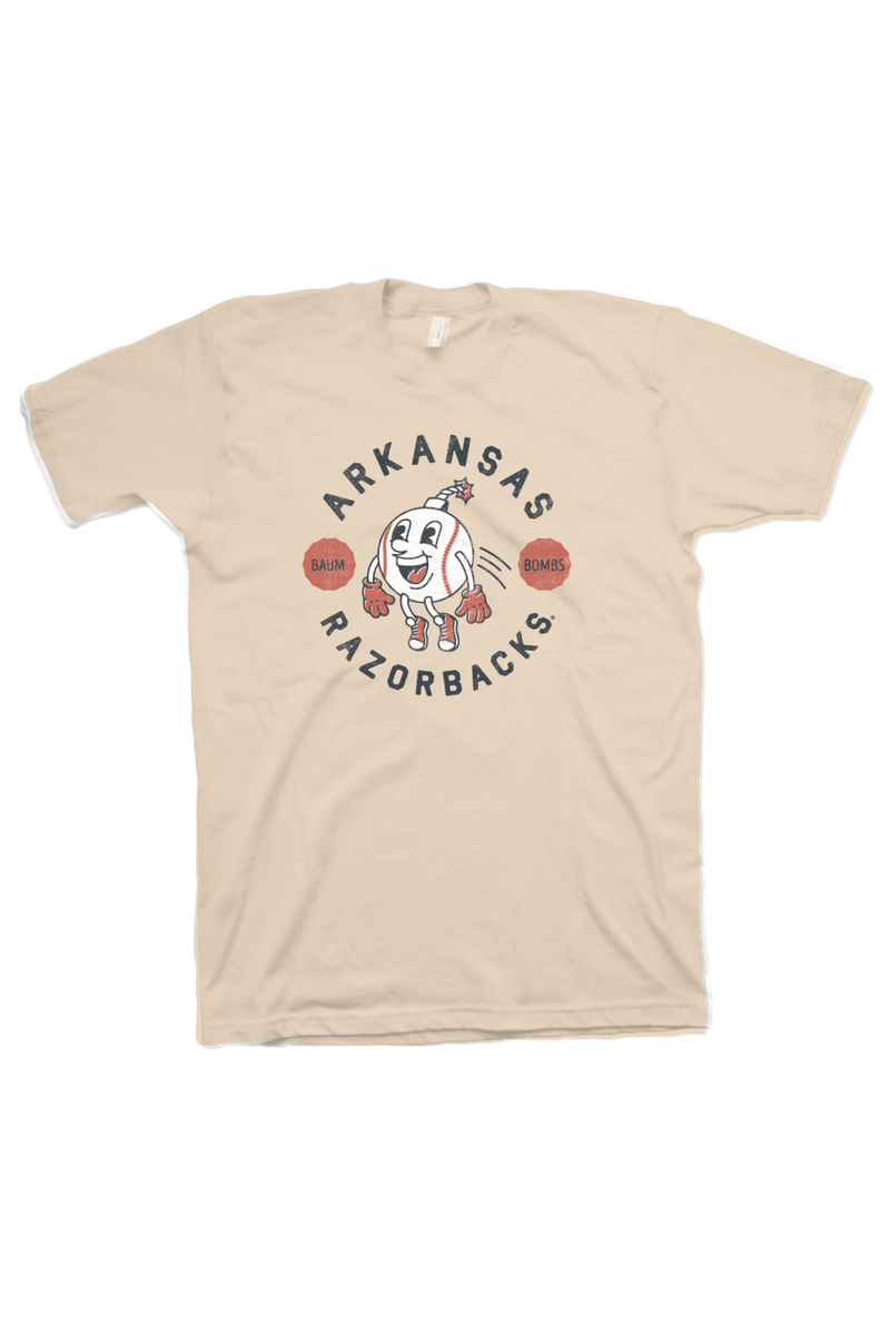 Baum Bombs T-Shirt Soft Cream