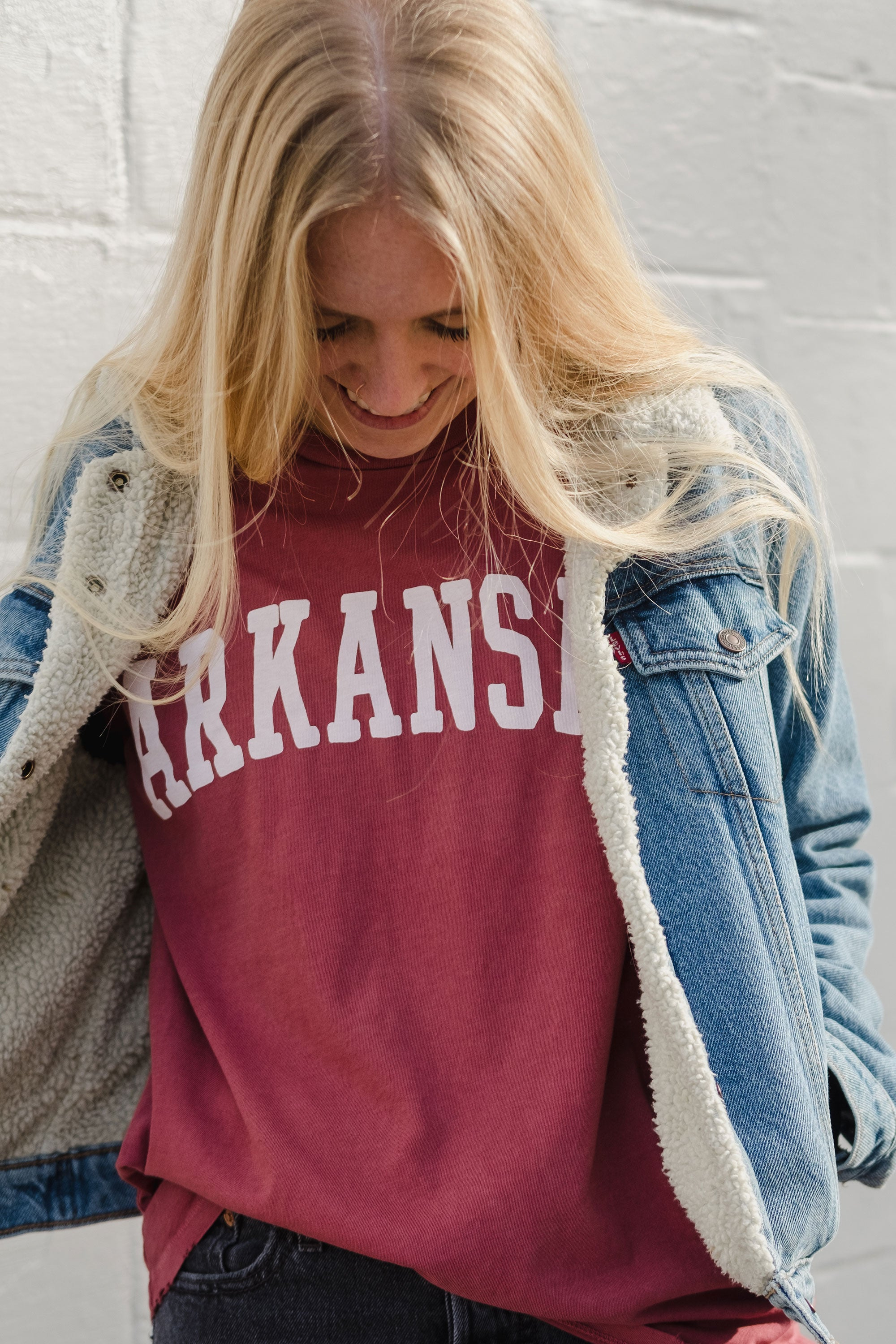 Distressed Arkansas T-Shirt