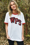 Stacked WPS Ringer T-Shirt