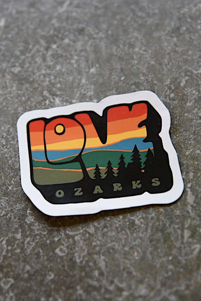 Love Ozarks Sticker