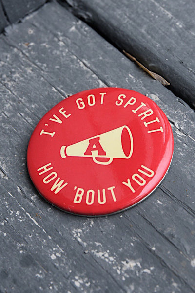 I've Got Spirit Button