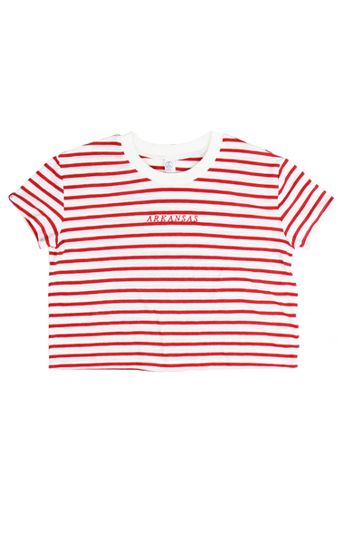 Arkansas Sailor Cropped T-Shirt