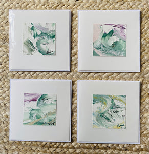 Pack of 4 Soft Coastal