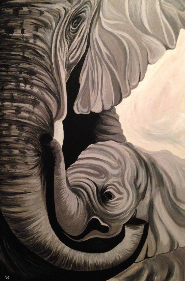 Mummy & Baby Elephants Series