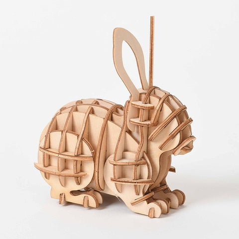 Puzzle 3D Lapin