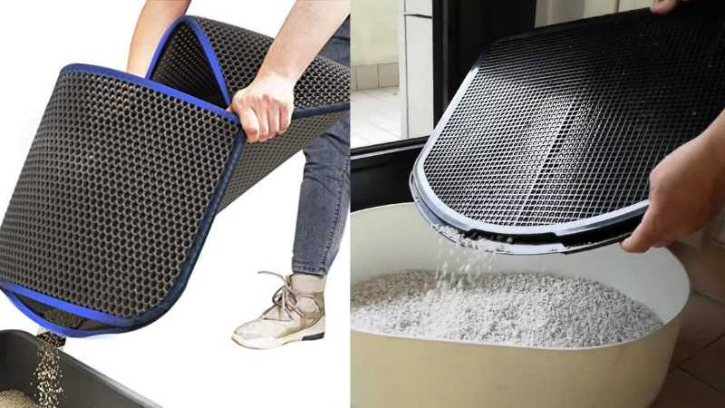 spreadztrap cat litter mat vs wepet cat litter mat
