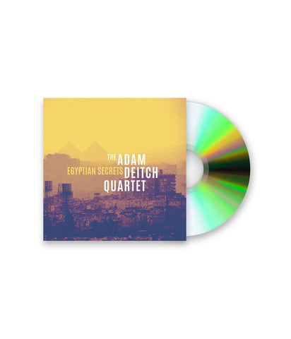 The Adam Deitch Quartet - Egyptian Secrets Digipak CD