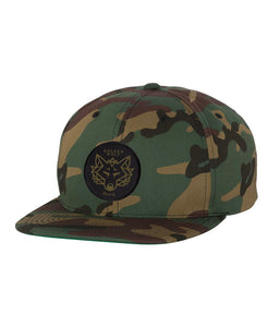 Adam Deitch Golden Wolf Records Snapback Hat (Camo)