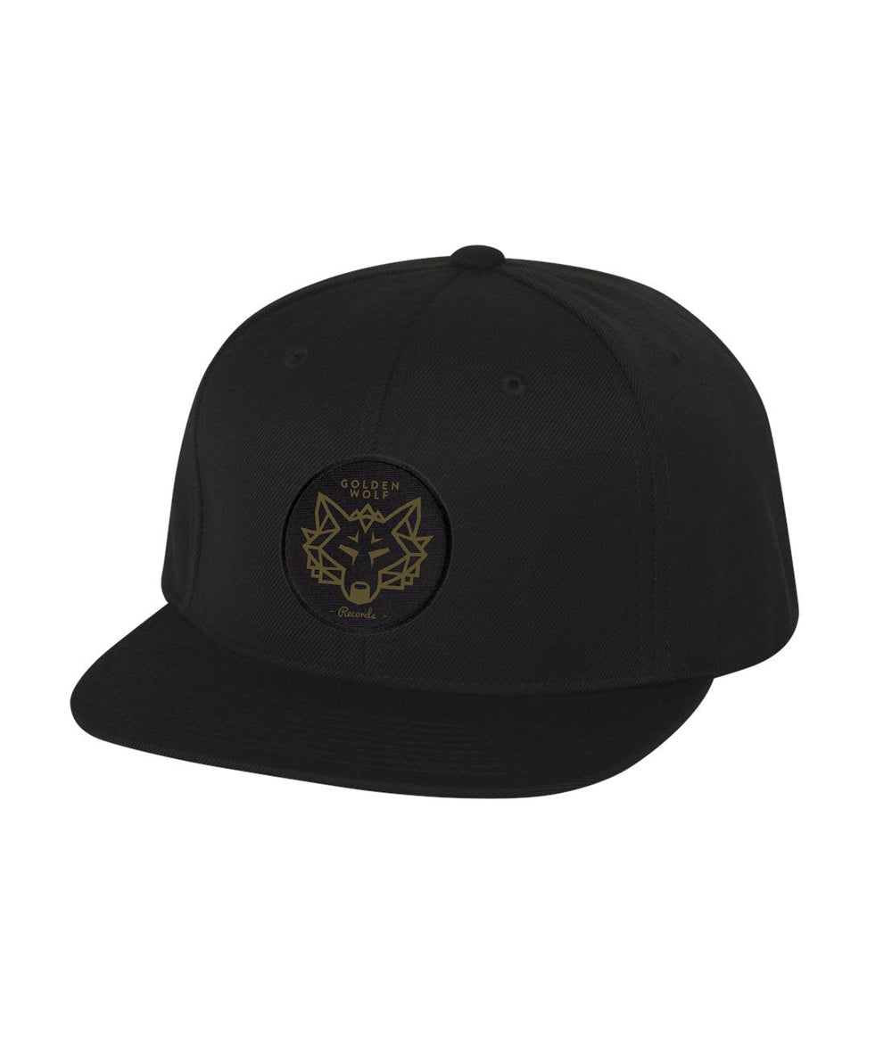 Adam Deitch Golden Wolf Records Snapback Hat (Black)