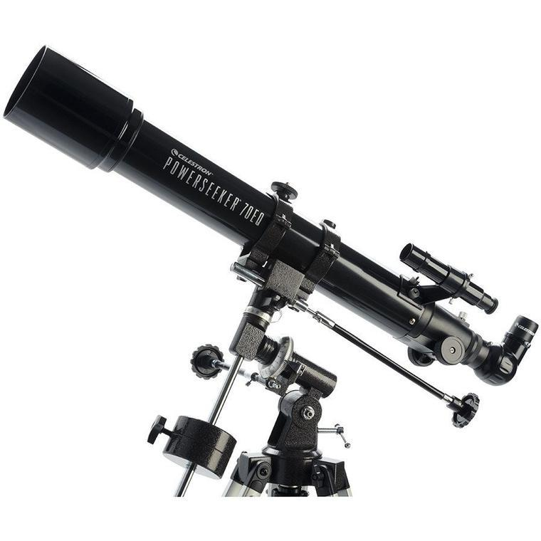 Celestron PowerSeeker 70EQ Refractor Telescope - the-scopes