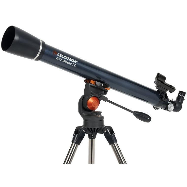 Celestron AstroMaster 70AZ Refractor Telescope - the-scopes