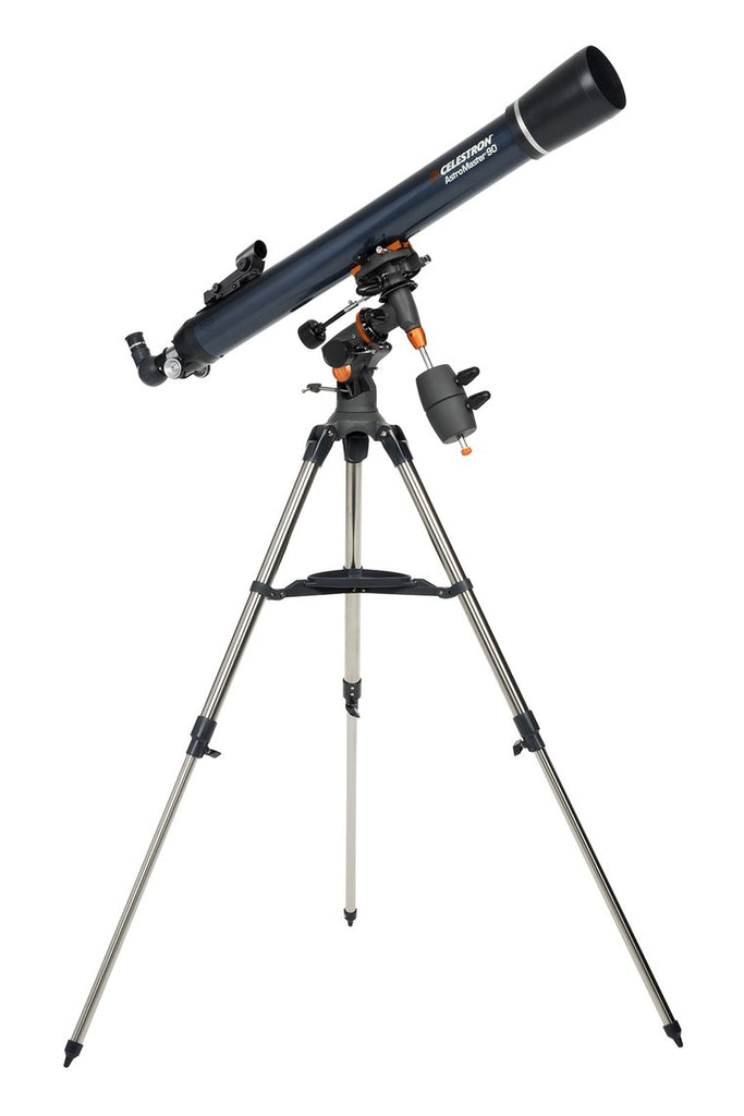 Celestron AstroMaster 90EQ Refractor Telescope - the-scopes