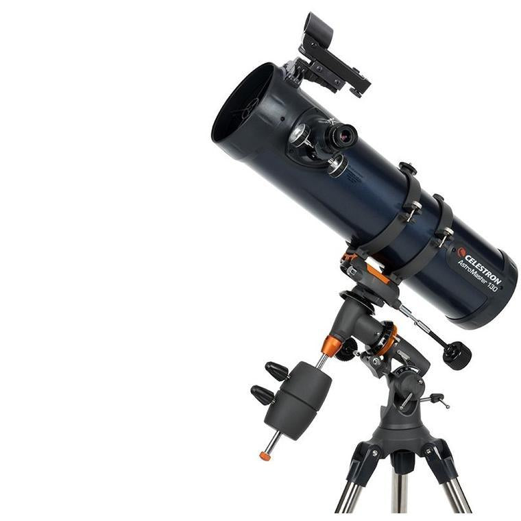 Celestron AstroMaster 130EQ Newtonian Telescope - the-scopes