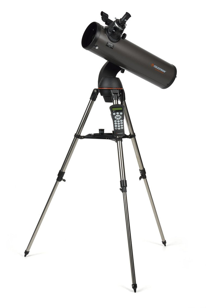 Celestron NexStar 130 SLT Newtonian Telescope - the-scopes
