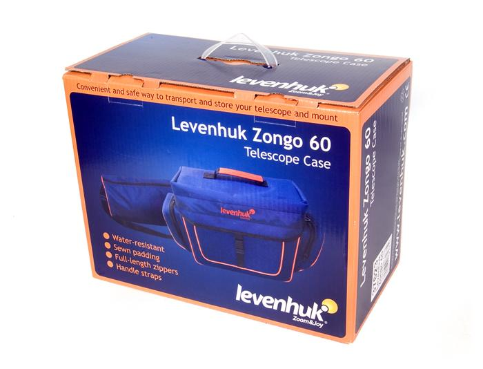 Levenhuk Zongo 60 Telescope Case; Small, Blue - the-scopes
