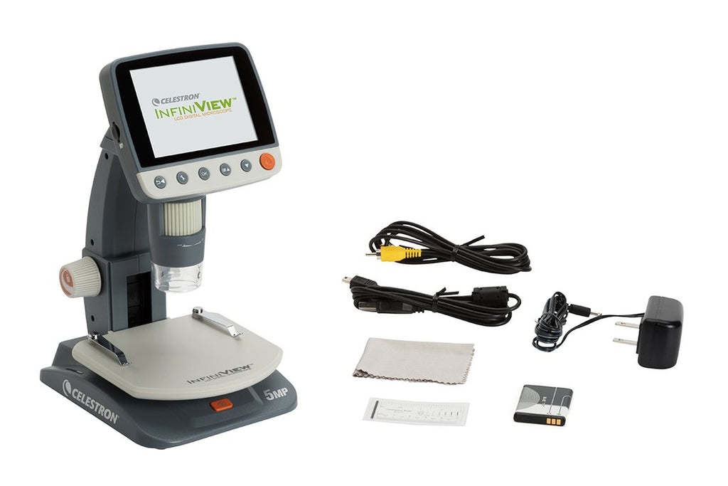 CELESTRON INFINIVIEW LCD DIGITAL MICROSCOPE - the-scopes
