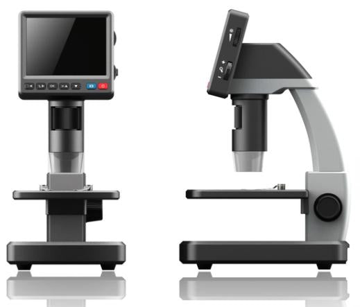 ITI-350L LCD USB Digital Microscope - the-scopes