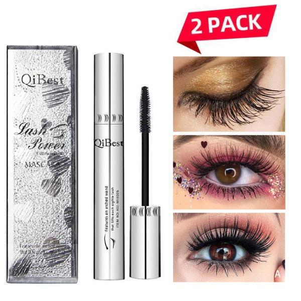 Buy One Get One Free - 4D Waterproof Silk Fiber Thick Lengthening Mascara