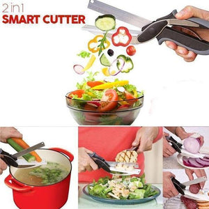 (SALE - SAVE 40% OFF) 2 in 1 Smart Cutter- BUY 2 FREE SHIPPING