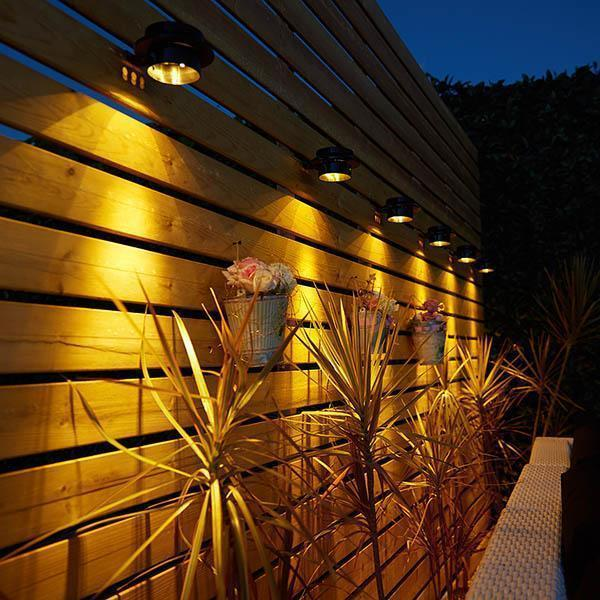 Last day promotion 50% OFF - Solar Powered Gutter Lights