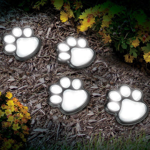 Solar-Powered Paw Print Lights-Next Deal Shop-Next Deal Shop