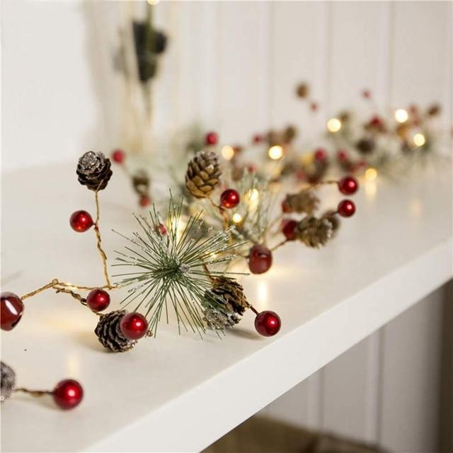 Garland Christmas LED Lights Decorations - LEMI Décor