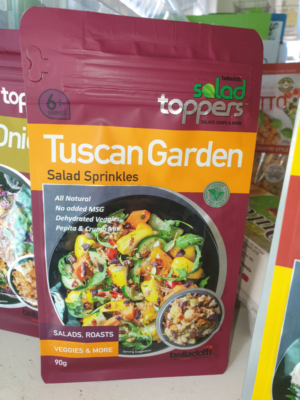 Tuscan Garden salad toppers
