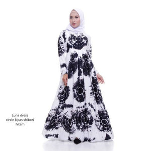 Gamis, luna, Daily, dress, harian, jumputan