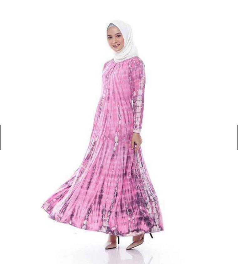 Gamis, Jumputan, Daily, Dress, Harian