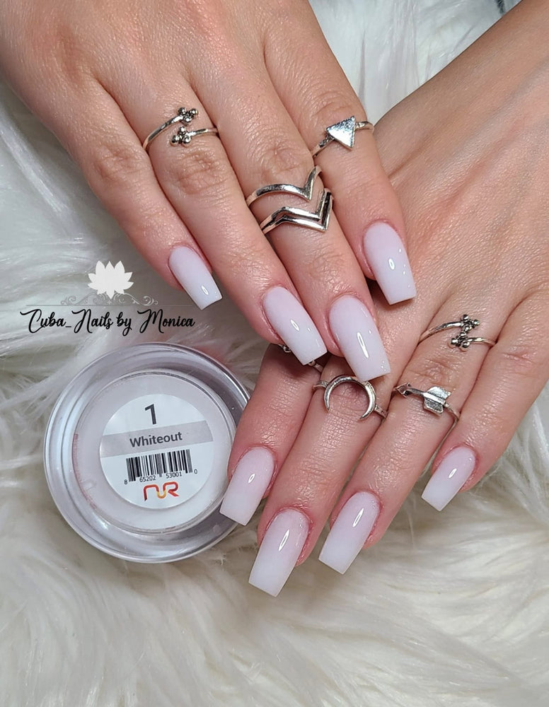 Trio 01 Whiteout Gel & Lacquer