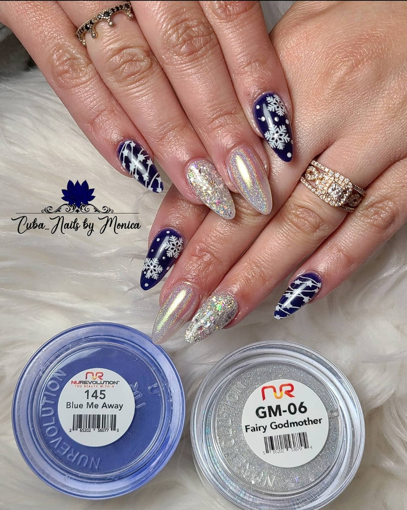 Trio 145 Blue Me Away Gel & Lacquer
