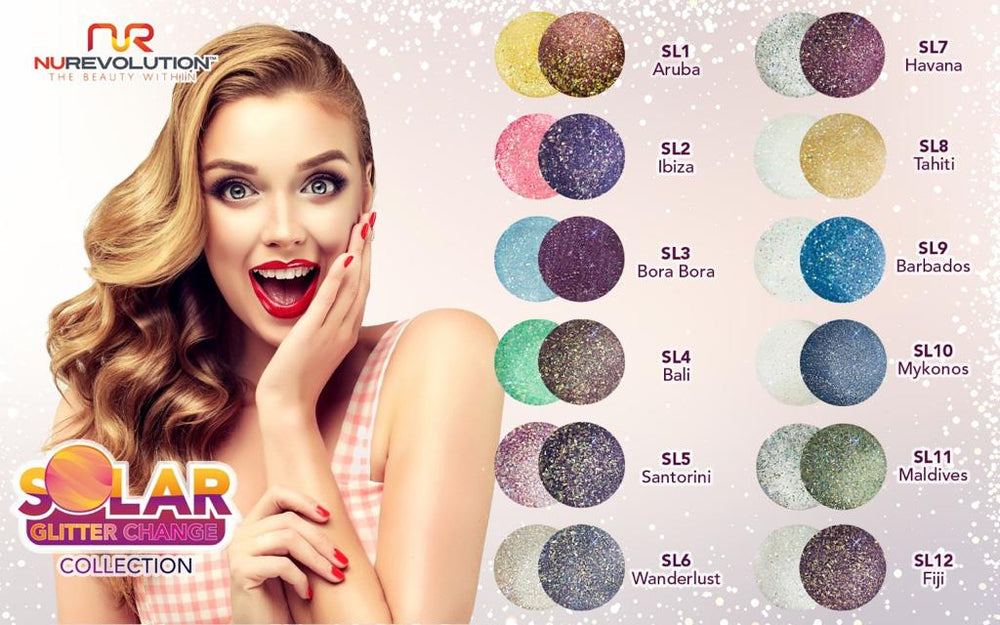 Solar Glitter Collection
