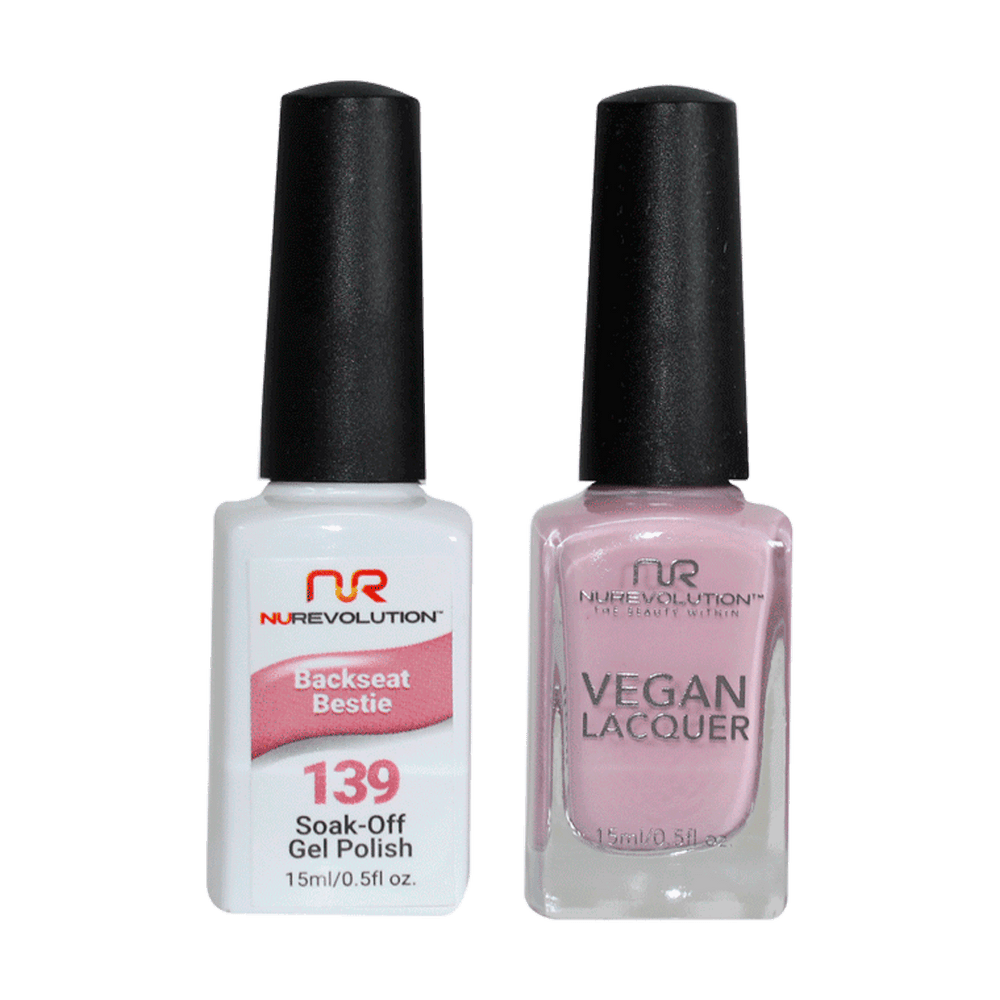 Trio 139 Backseat Bestie Gel & Lacquer