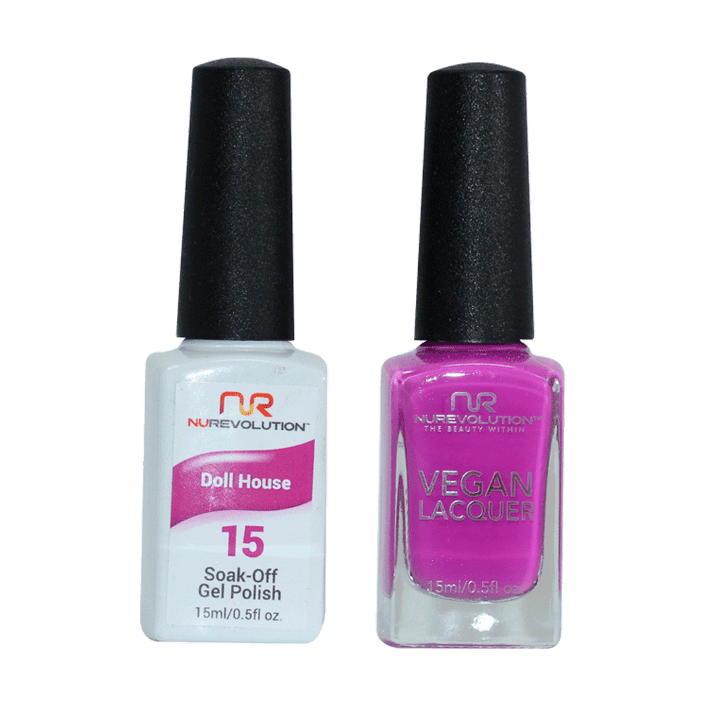 Trio 15  Doll House Gel & Lacquer