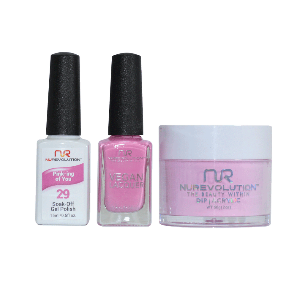 Trio 29 Pink-ing Of You
