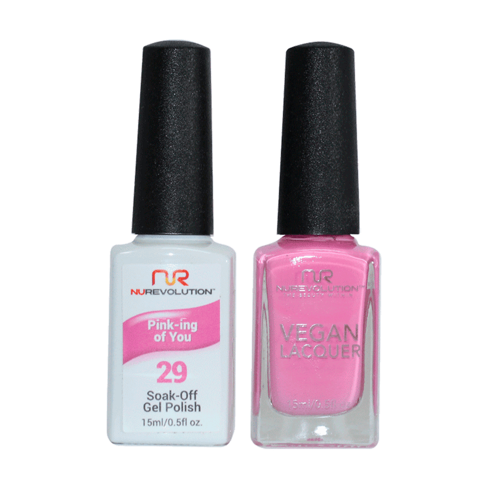 Trio 29 Pink-ing Of You  Gel & Lacquer