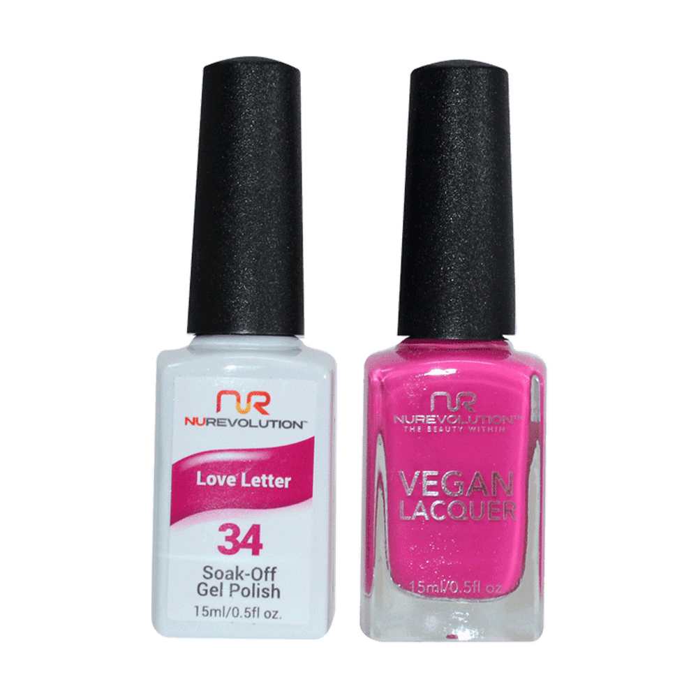 Trio 34 Love Letter Gel & Lacquer