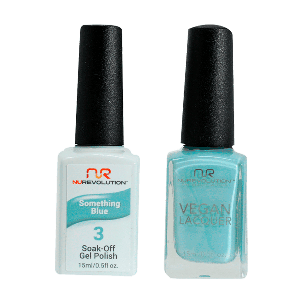 Trio 03 Something Blue Gel & Lacquer