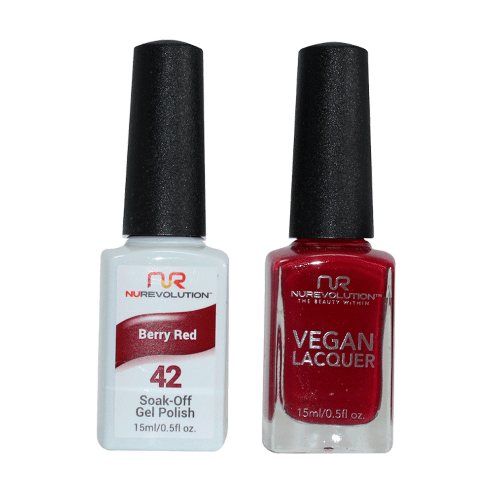 Trio 42 Berry Red Gel & Lacquer