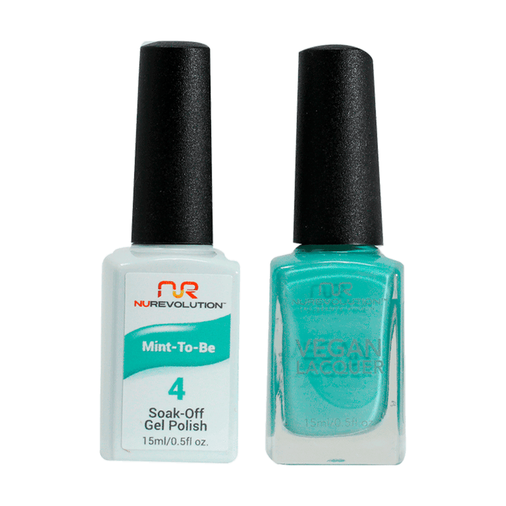 Trio 04 Mint-To-Be Gel & Lacquer