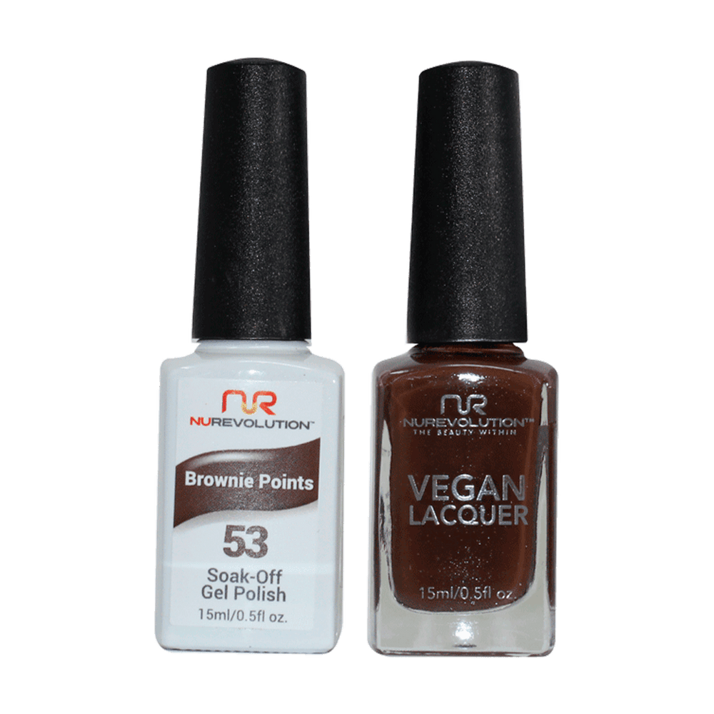 Trio 53 Brownie Points Gel & Lacquer